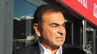 China Will Drive Car Growth Says Renault Nissan Ghosn | Davos World Economic Forum