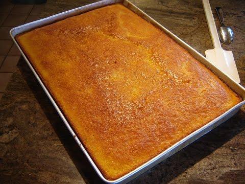 YELLOW  SHEET CAKE by DIANE LOVE TO BAKE