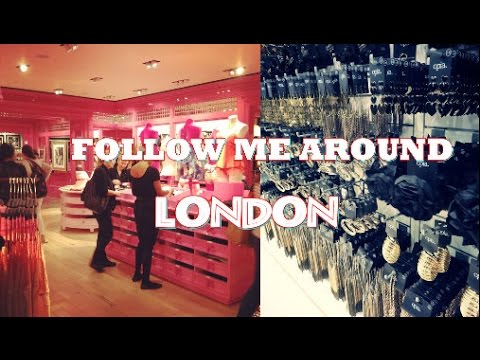 FMA Follow me around LONDON Part 4 (Shopping ♥♥♥)