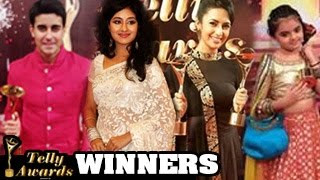 13th Indian Telly Awards 2014 WINNERS REVEALED ( FULL SHOW )