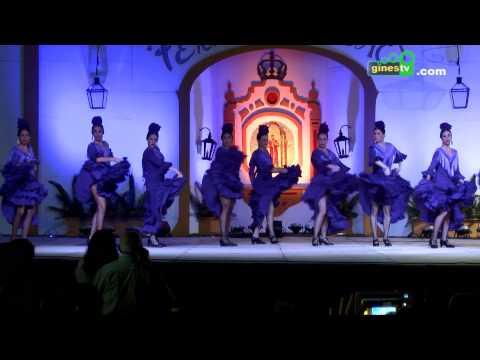 Actuación de la Escuela de Baile Sonia López en la Feria de San Ginés 2015