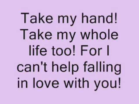 can t help falling in love with you haley mp3 download