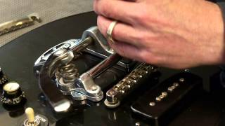 Watch the Trade Secrets Video, Vibramate Bigsby vibrato mount: no drilling!