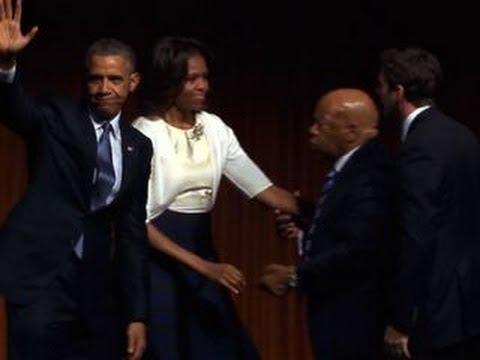 Obama delivers keynote address at Civil Rights Summit