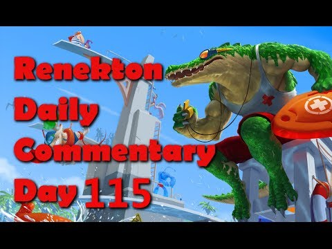 Renekton Daily Commentary - Day 115 -  Renekton Vs Lee Sin
