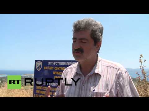 Greece: Protesters blockade Crete's NATO base