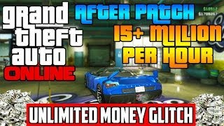 GTA 5 Online: UNLIMITED MONEY GLITCH! $15 Million/Hour