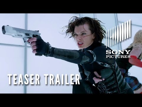 RESIDENT EVIL: RETRIBUTION 3D - Official Teaser Trailer - Opens 9/14