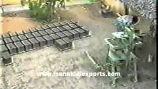 Manek Concrete & Pavement Block Making Hand Operated