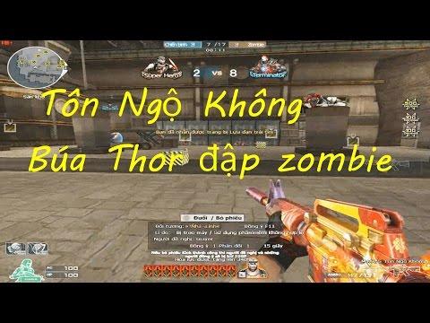 [ Bình Luận CF ] M4A1-S Tôn Ngộ Không , Búa Thor - Tiền Zombie v4