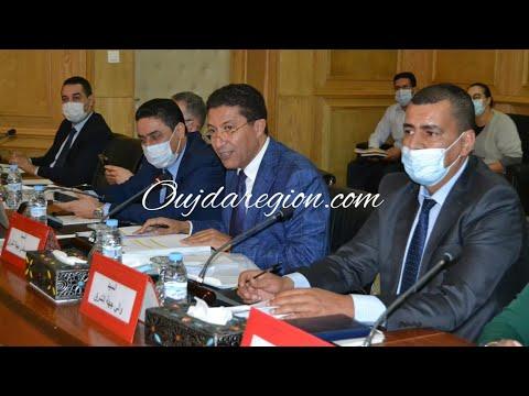 شاهد..لحظة تشكيل لجنة مجلس جهة الشرق في جو من الشفافية