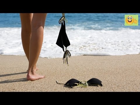 Chuyện lạ: Tắm biển khỏa thân đón mùa thu - Tin Hay Viet