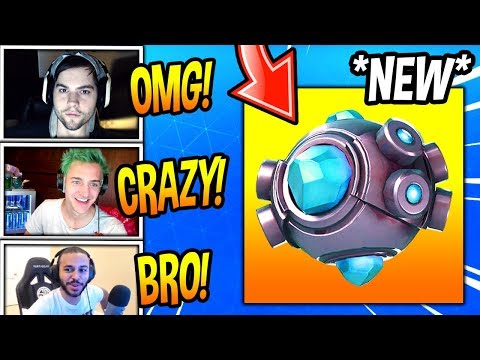 STREAMERS USE THE *NEW* SHOCKWAVE GRENADE! (CRAZY) Fortnite FUNNY & SAVAGE Moments