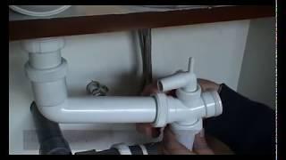 Fuga de agua en el fregadero