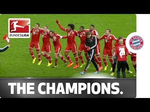 Bayern Munich: The Champions Celebrate