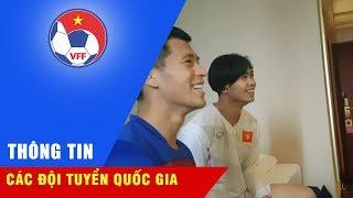 U23 Việt Nam nghỉ ngơi hồi phục thể lực chuẩn bị cho cuộc đọ sức với U23 Iraq