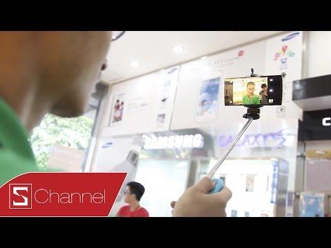 Trên tay gậy tự sướng Monopod dành cho iPhone, smartphone Android...