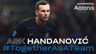 LIVE | INTER TV videochat with SAMIR HANDANOVIC powered by Acronis | #TogetherAsATeam [SUB ENG] ©🖥?