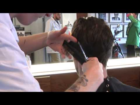 Flow & Comb Scissor Haircut - Hairstyle Similar to Chris