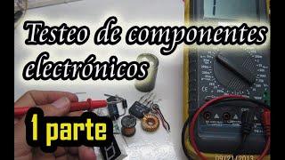 Componentes electronicos - Testeo