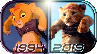 EVOLUTION of The LION KING Simba in Movies Cartoons,TV (1994-2019) The Lion King movie scene trailer