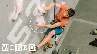 Why It's Almost Impossible to Climb 15 Meters in 5 Secs. (ft. Alex Honnold)   WIRED