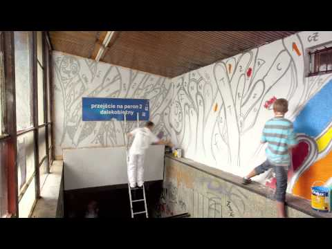 Dulux - Let's Color Sopot - time lapse
