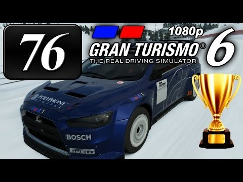 Gran Turismo 6 [FullHD] - Part #76 - Mission Races #5 - Gold & Prize Car!