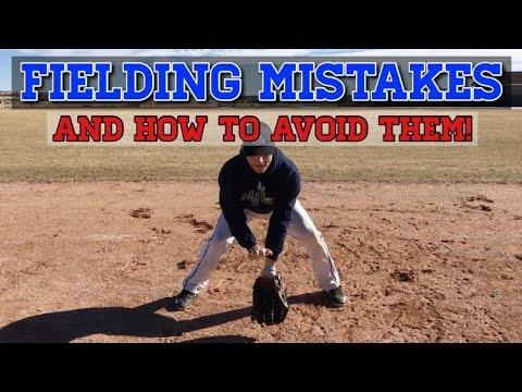 Baseball Fielding MISTAKES TO AVOID!