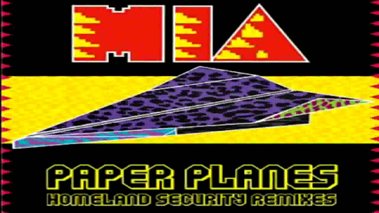 mia paper planes letterman youtube