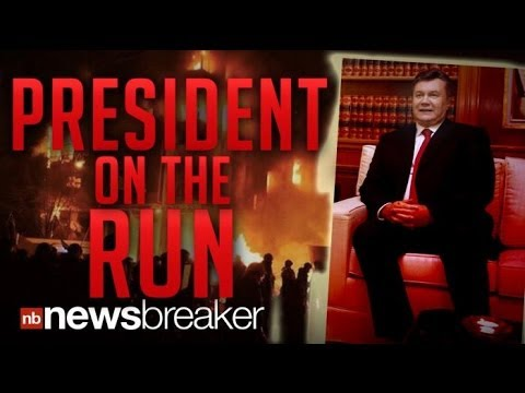 PRESIDENT ON THE RUN: Ukrainian Government Issues Arrest Warrant for President Yanukovych