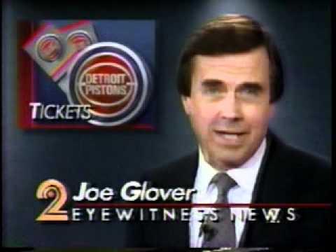 WJBK Detroit: June 8, 1989: Detroit Pistons NBA Finals - YouTube