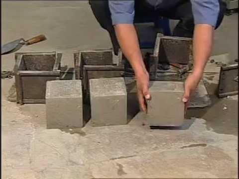 concrete cube compressive strength