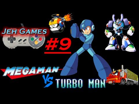 Jeh Games: Megaman 7 Turbo  Man Stage #9