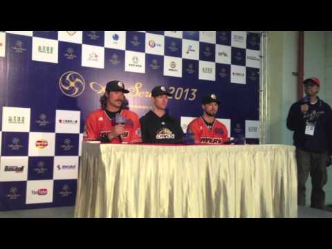 2013 Asia Series semi-final, Canberra Cavalry post game press conference
