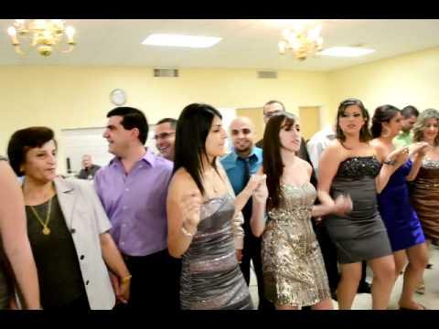 حفل زفاف حسام يازجي  و مارينا مشابه