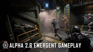Star Citizen - Alpha 2.6 Emergent Gameplay