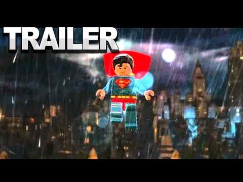 Первый трейлер LEGO Batman 2: DC Super Heroes