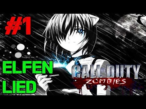 Elfen Lied Ep.1 - Call of Duty Custom Zombies (CoD Zombies) - World at War [PC HD]