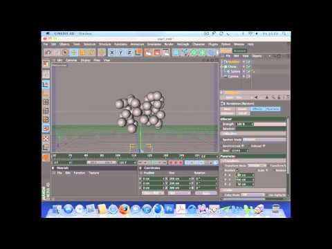 Create an animation using dynamics in Cinema 4D (1 of 7)