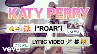 Katy Perry Roar (Lyric Video)
