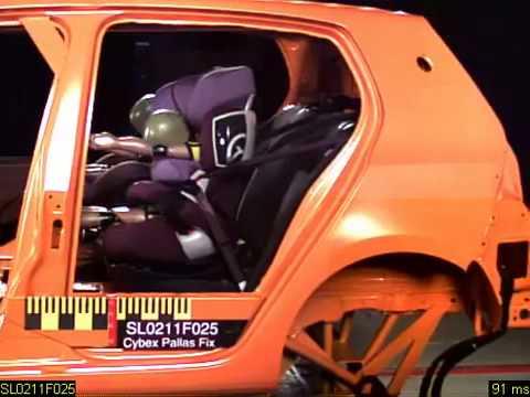 cybex pallas 2 fix crash test youtube. Black Bedroom Furniture Sets. Home Design Ideas