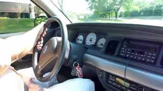 Driving Chad's 2003 Mercury Marauder