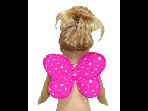 American Girl Doll Clothes Sewing Patterns Fairy Wings