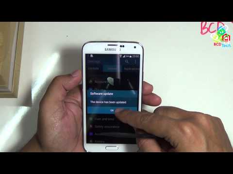 Samsung Galaxy S5 firmware update 11 April 2014 build number KOT49H.G900HXXU1ANCI