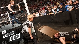 Greatest Last Man Standing Match knockouts: WWE Top 10, May 28, 2018