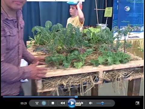 Waist High Pallet Garden & More at the 2013 SF Flower and Garden Show