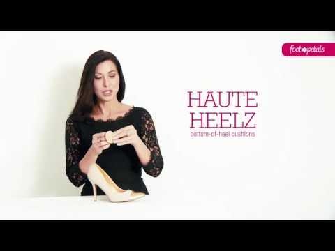 Haute Heelz:  Bottom of Heel Cushions