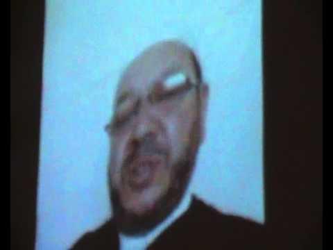 عاجل العلامة بنحمزة على Skype،يشكر جلالة الملك محمد السادس نصره الله،ووالي الجهة الشرقية