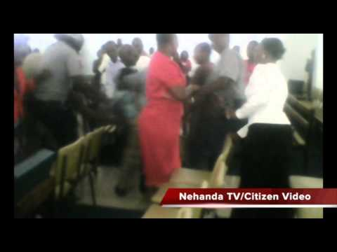 Zimbabwe riot police beat up Waterfalls AFM members in church